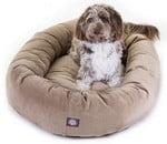 Majestic Pet Suede Bagel Bed