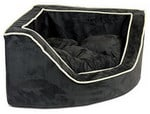 Snoozer Luxury Foam Sided Corner Pet Bed