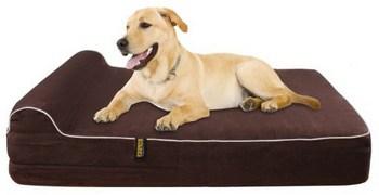 Kopeks Large Theraputic Headrest Dog Bed