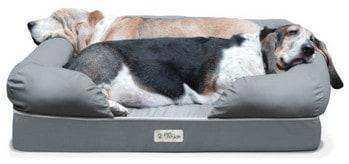 PetFusion Orthopedic Dog Lounge