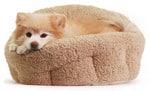 Sheri Deep Dish Cuddler Sherpa Bed