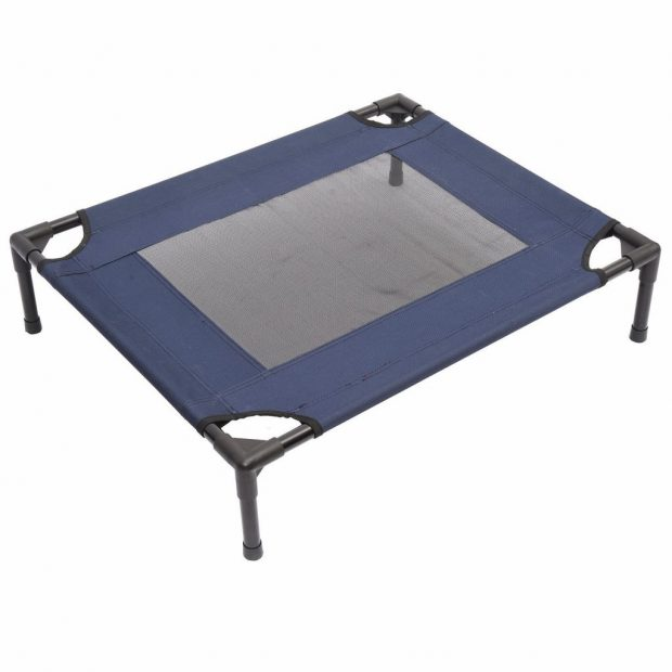 Pawhut Elevated Dog Bed /  Chew Proof Indestructible Pet Cot Review
