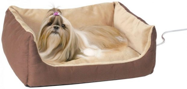 K&H Thermo-Pet Cuddle Cushion Dog Bed