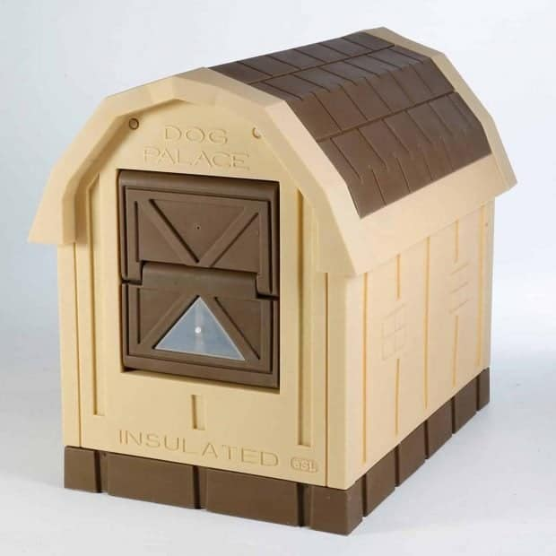 ASL Solutions Deluxe Insulated Dog Palace with Floor Heater Dog House