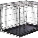 AmazonBasics Single Door & Double Door with Paw Protector