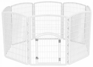 IRIS Exercise Panel Pet Playpen with Door - 34 Inch Review