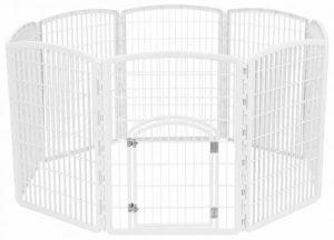 IRIS Exercise Panel Pet Playpen with Door - 34 Inch Review