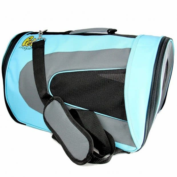 Luxury Soft-Sided Cat Carrier Pet Travel Portable Kennel