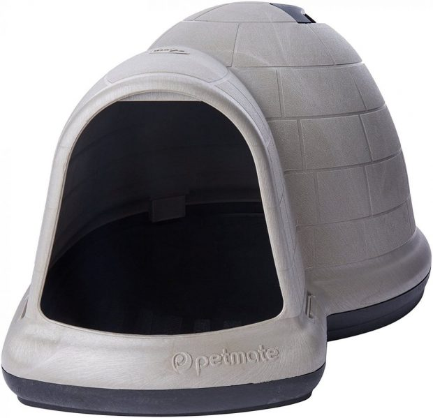 Petmate INDIGO W/MICROBAN Best Dog House Review