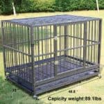 Sliverylake Dog Cage Crate Kennel