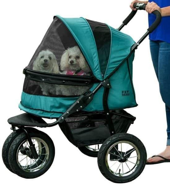 Pet Gear No-Zip Double Dog Stroller