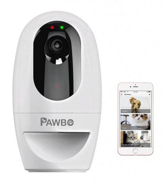 Pawbo+ Wireless Interactive Pet Camera & Treat Dispenser