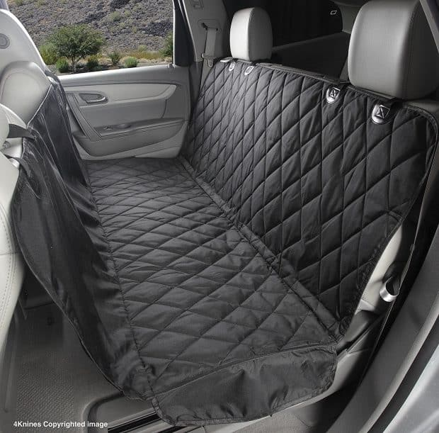 Best Car Seat Covers For Dogs - 4Knines Dog Seat Cover With Hammock for Full Size Trucks and Large SUVs