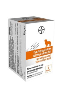 Bayer Tapeworm Dewormer for Dogs