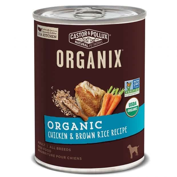 Castor & Pollux Organix Organic Canned Dog Food