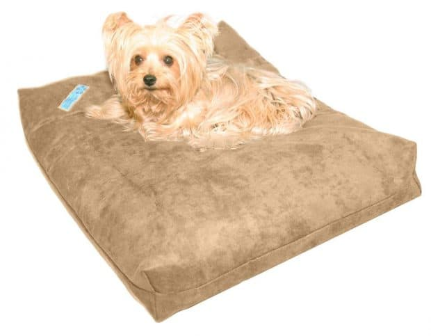 Five Diamond Collection Shredded Memory Foam Orthopedic Dog Bed For Greyhounds