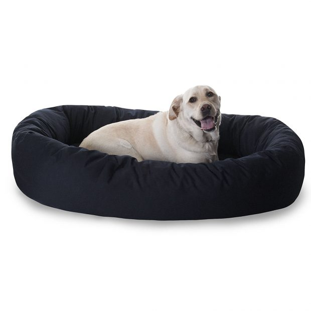 Majestic Pet Bagel Dog Bed for Greyhounds