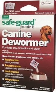 Merck 001-040694 Good Safeguard Canine Dewormer For Dog