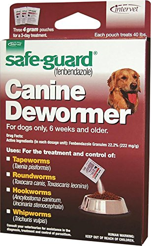 Merck 001-040694 Good Safeguard Good Canine Dewormer For Dog