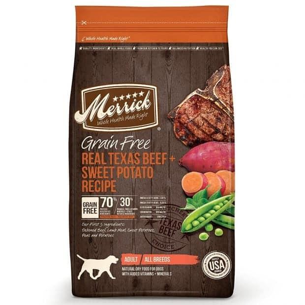 Merrick Grain Free Dry Organic Dog Food