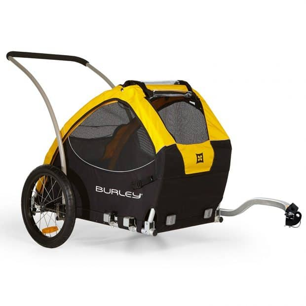 burley-design-tail-wagon best dog bike trailers