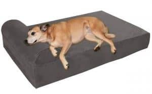 Big Barker 7 Pillow Top Orthopedic Dog Bed for German Shepherds