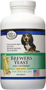 Four Paws Brewers Yeast Garlic Flavored Dog Medication