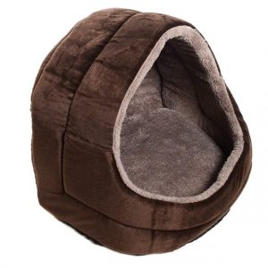 Milliard Premium Comfort Plush Dog Cave and Pet Bed