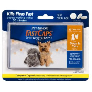 PetArmor FastCaps (nitenpyram) Oral Dog Flea Control Medication