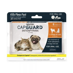 SENTRY Capguard (nitenpyram) Oral Dog Flea Control Medication