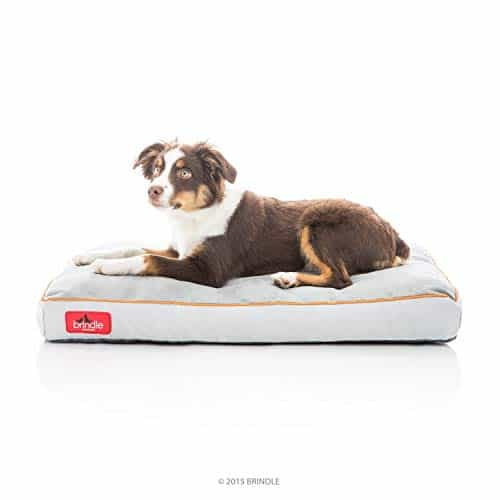 Brindle Soft Shredded Memory Foam Dog Bed