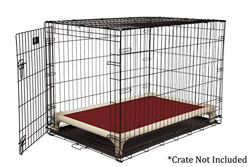Kuranda Almond PVC Chewproof Dog Crate Bed