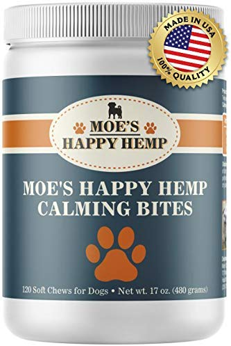 Moe's Organic Hemp Calming Treats for Dogs