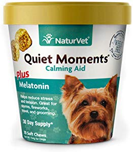 NaturVet Quiet Moments Calming Aid for Dogs