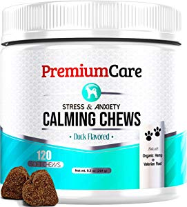 Premium Care Calming Treats for Dogs