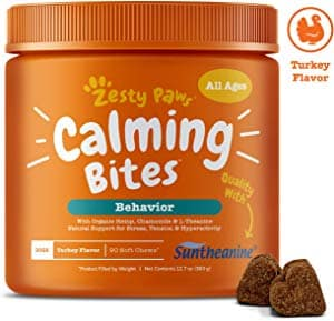 Zesty Paws Calming Bites for Dogs